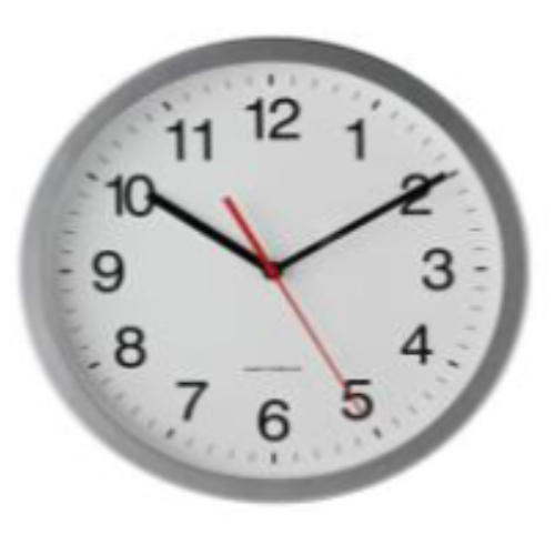 Clock - opening times