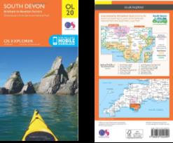OS Map - South Devon