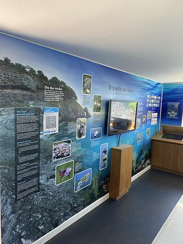 Visitor Centre inside
