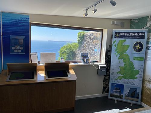 Visitor Centre window